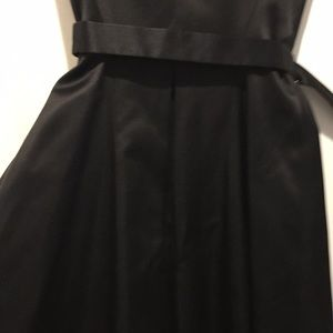 Jil Sander Dresses - Jil Sander Black belted mid length dress